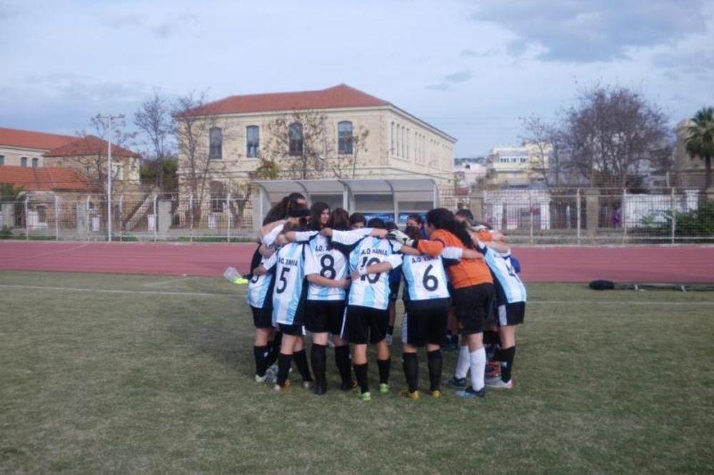 Στήριξη από Χανιά για την προβολή του γυναικείου ποδοσφαίρου