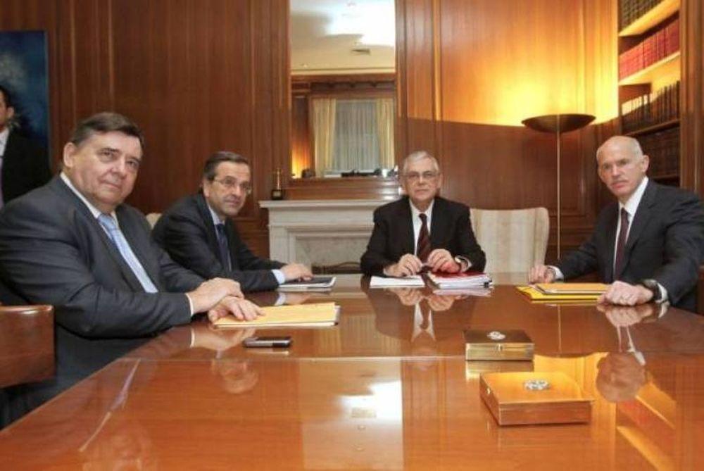 Την Τετάρτη η συνάντηση των πολιτικών αρχηγών