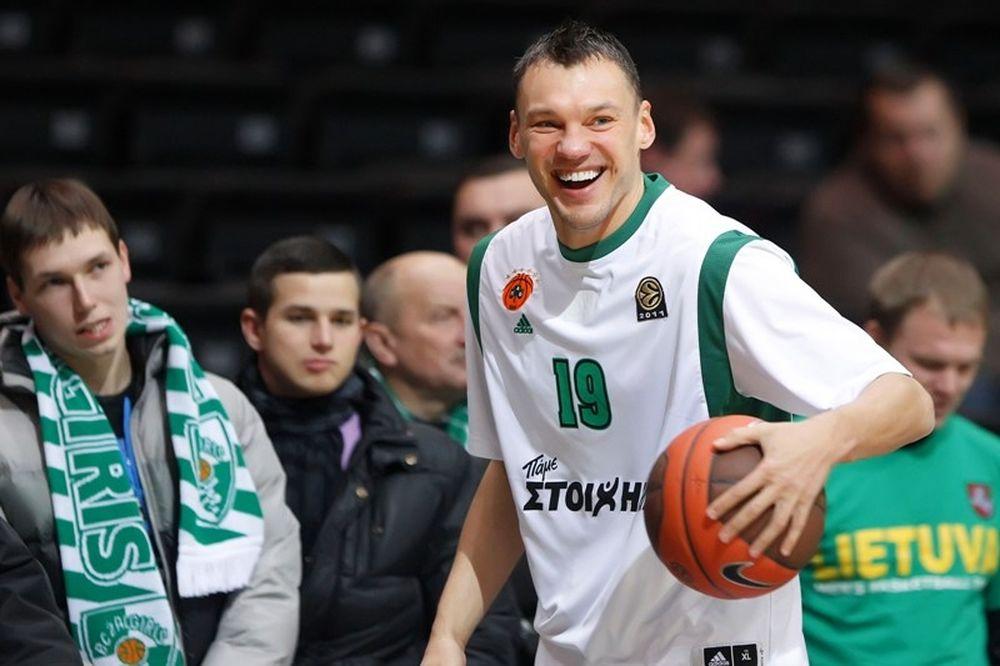 Γιασικεβίτσιους: «Ωραίο να παίζεις σε Final Four»