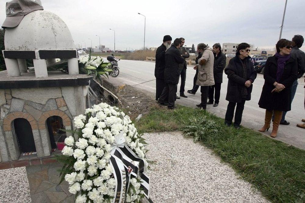 Το ΔΣ και η ομάδα του ΠΑΟΚ στο μνημόσυνο του Κατσούρη