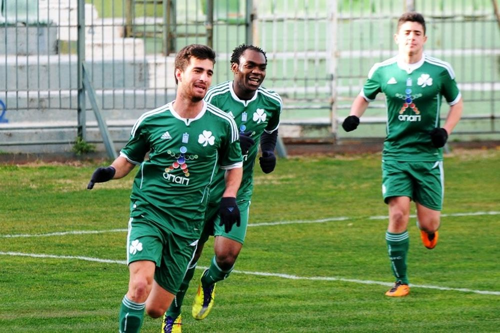 Παναθηναϊκός-Λεβαδειακός 2-0 (Κ20)
