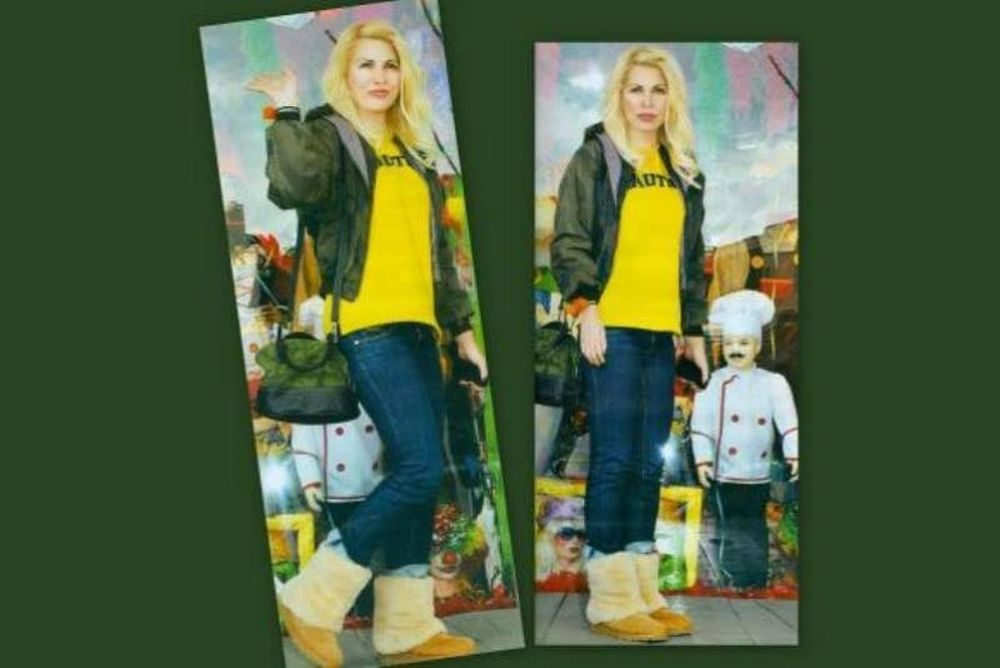 Στα… κίτρινα η Ελένη!
