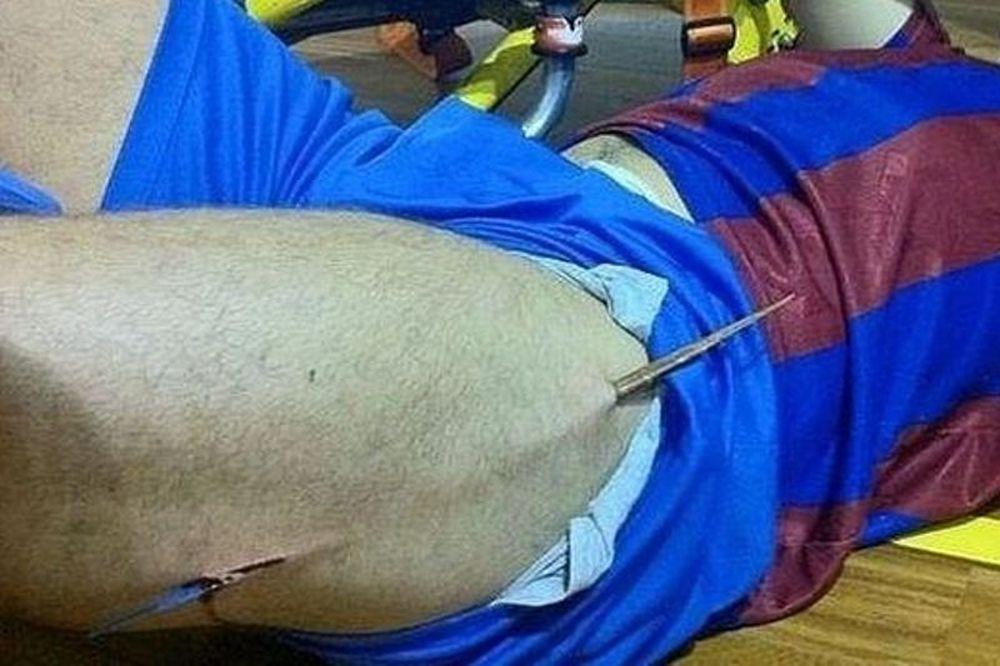 Τραυματισμός – σοκ παίκτη της Βαρκελώνης