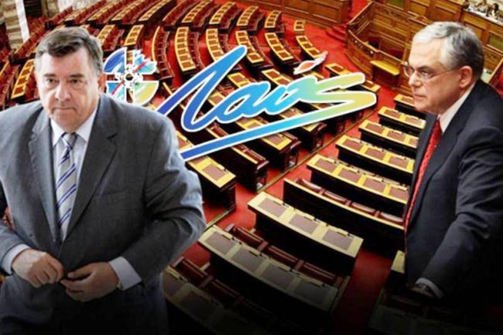 Δεν ψηφίζει τα νέα μέτρα ο Καρατζαφέρης