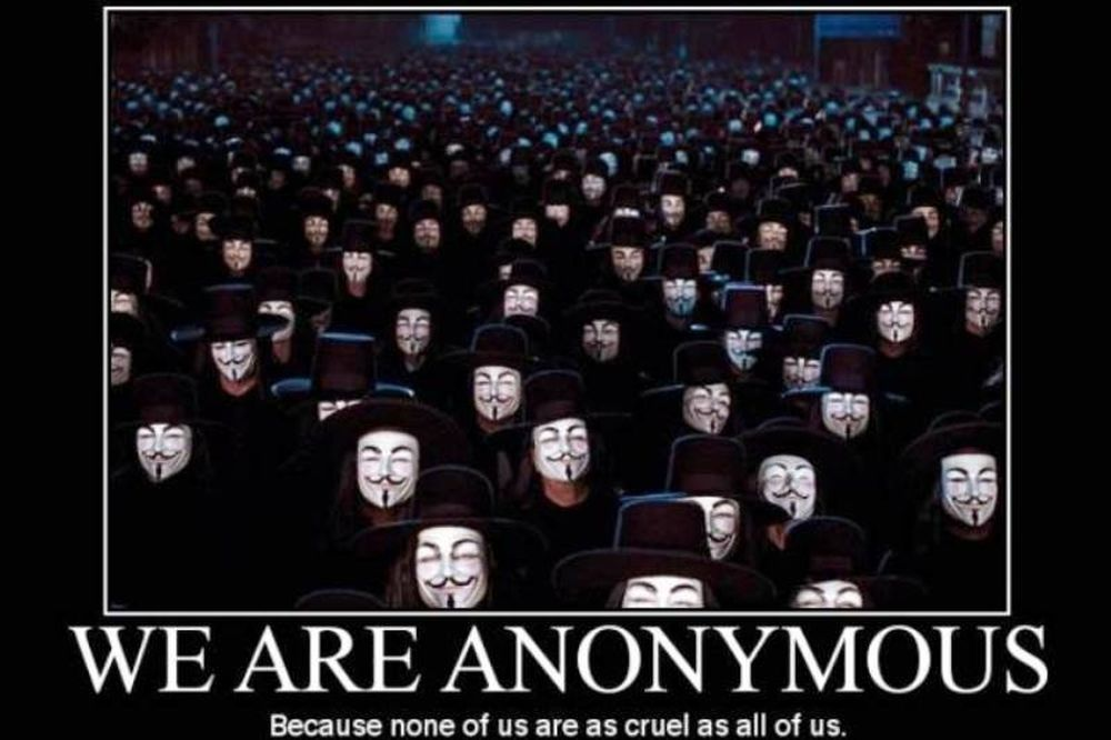 Ούτε η CIA δεν γλίτωσε από τους Anonymous