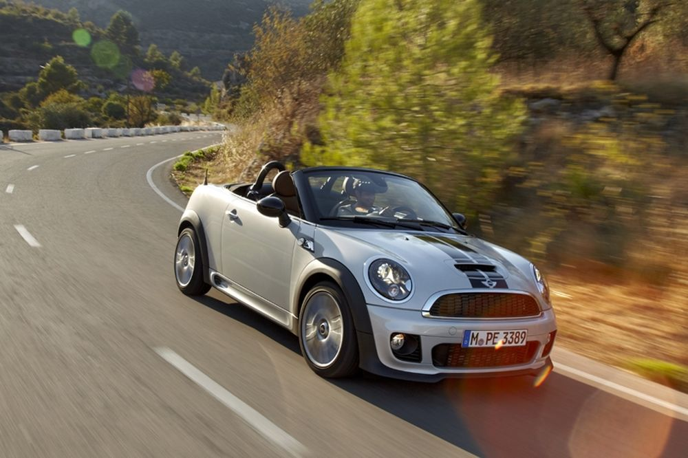 MINI Roadster: open-top οδηγική απόλαυση
