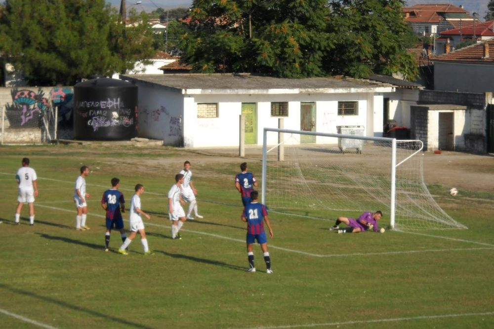 Αμπελωνιακός - Καμένα Βούρλα 6-0