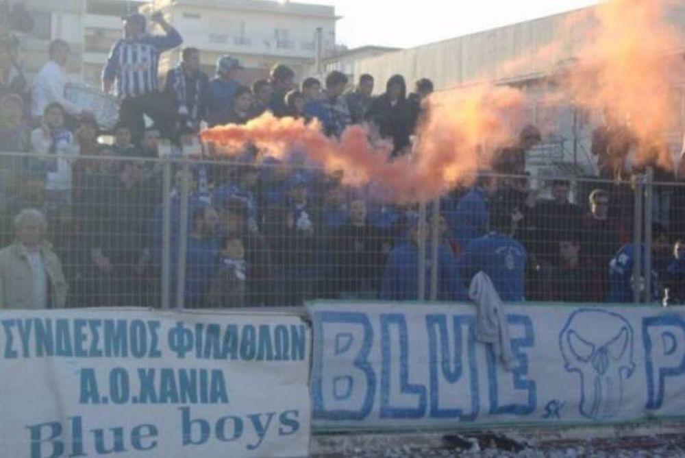 Αποθέωση Νούνο από Blue Boys