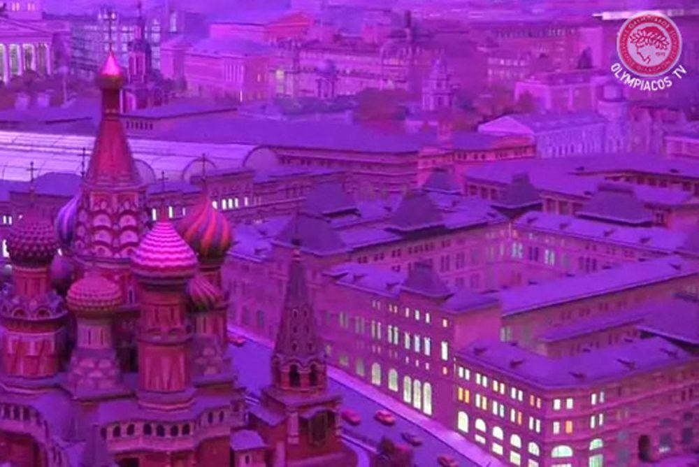 Το ταξίδι στη Μόσχα σε video