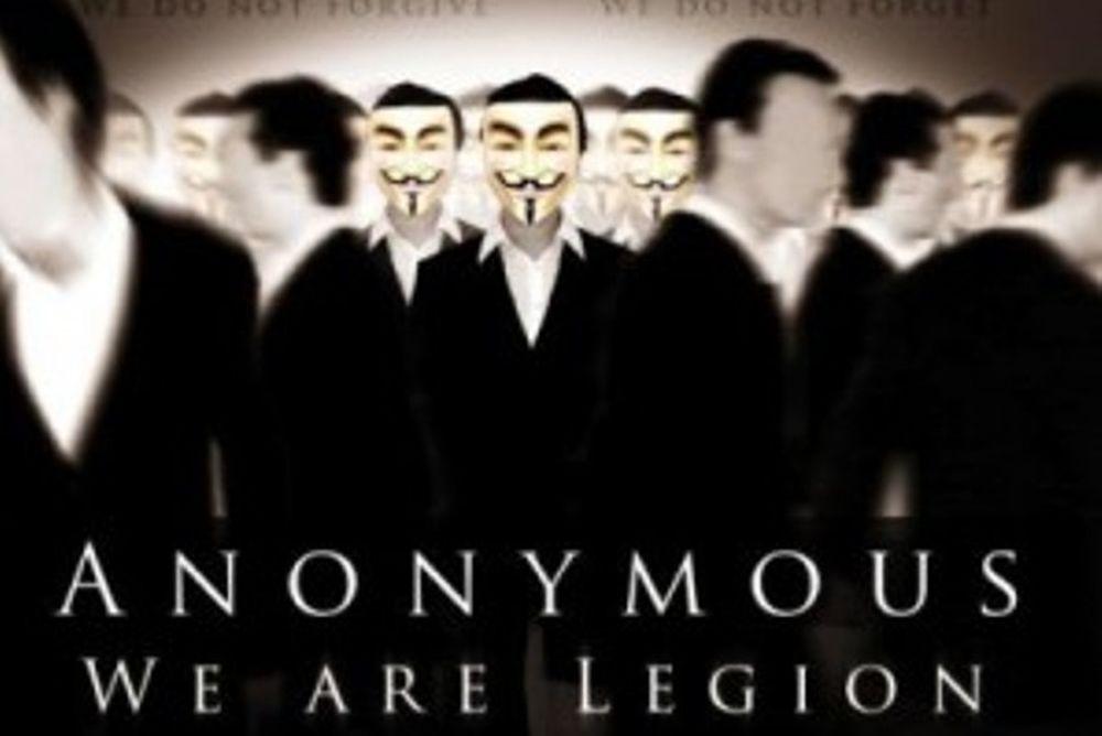 Οι «Αnonymous» ξαναχτύπησαν
