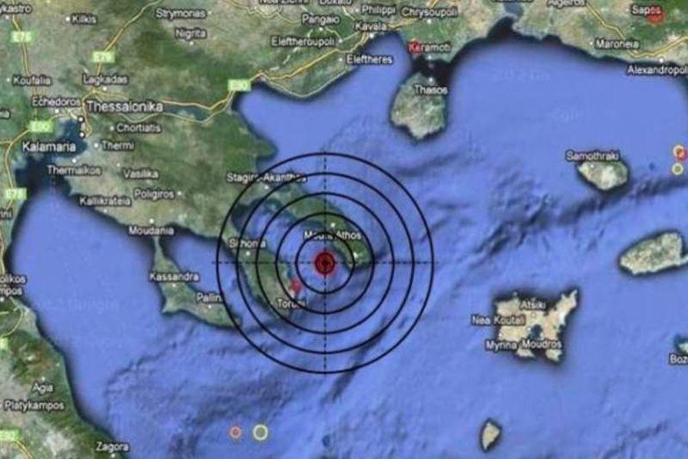 Ισχυρή σεισμική δόνηση στο Άγιο Όρος