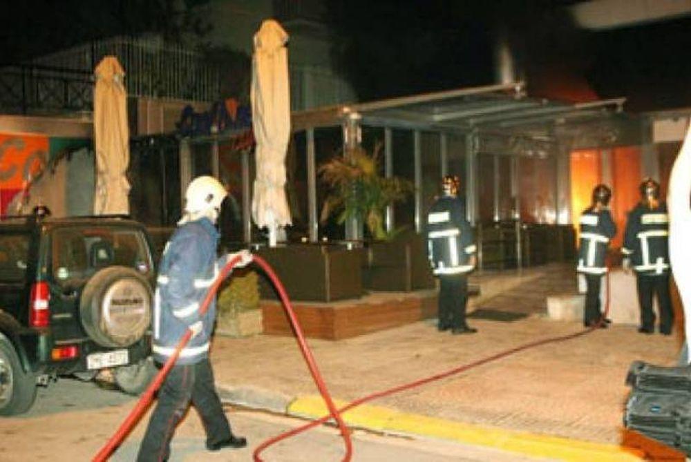 Φωτιά σε καφετέρια στο Χαϊδάρι