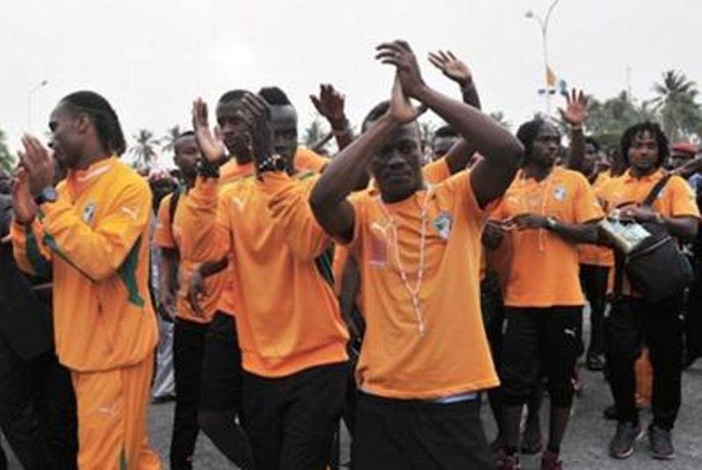 Αποθέωσαν την Ακτή Ελεφαντοστού