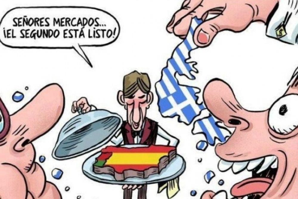 Η συμπαράσταση των Ισπανών στην Ελλάδα