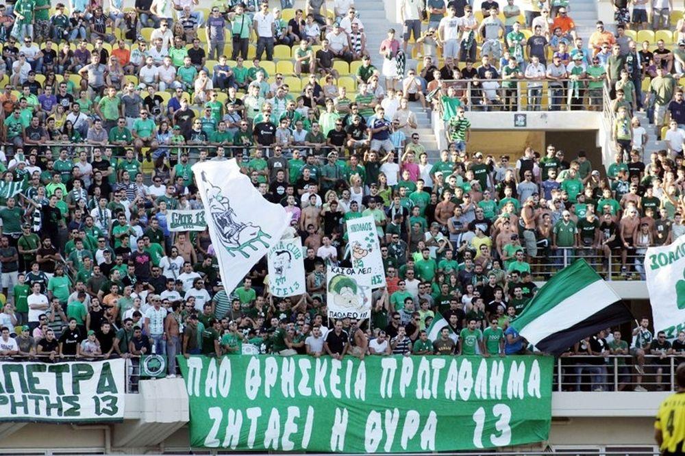 Καμία ευθύνη για τον κόσμο στην Κρήτη ο Παναθηναϊκός