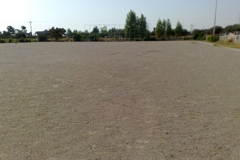Ολοκληρώνεται η ανακαίνιση στο γήπεδο της Τερψιθέας