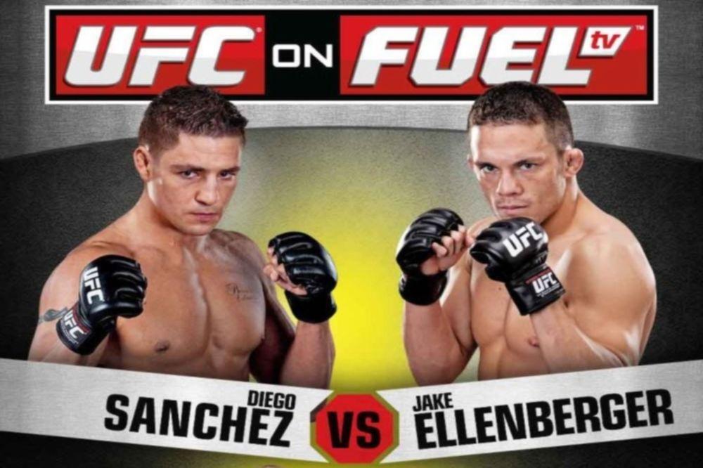 To πρόγραμμα του UFC on FUEL TV 1