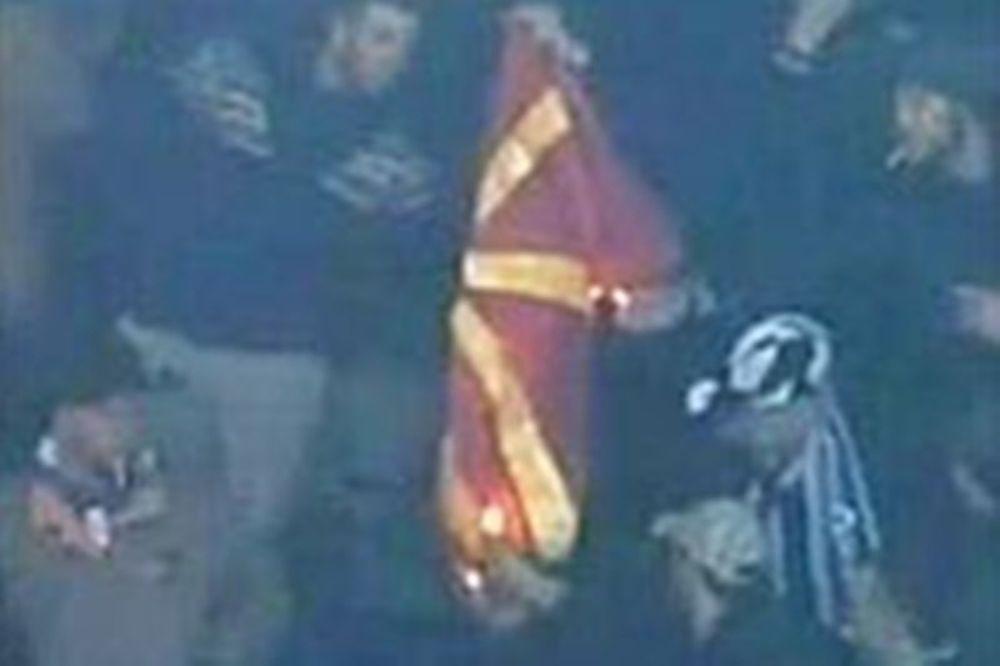 Έκαψαν τη σημαία της ΠΓΔΜ