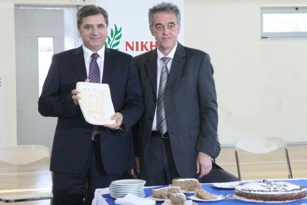 Στην Κοκκινιά η πίτα της Νίκης Αμαρουσίου (photos)