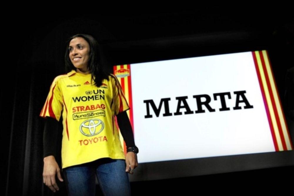 Στην Σουηδία η Μάρτα