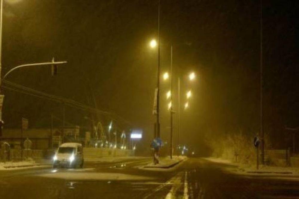 Νέα επιστροφή του χιονιά στην Αττική