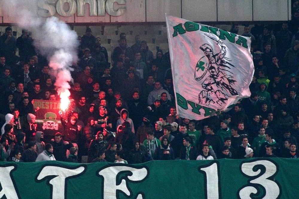 Χωρίς «πράσινους» οπαδούς απέναντι στην ΑΕΚ