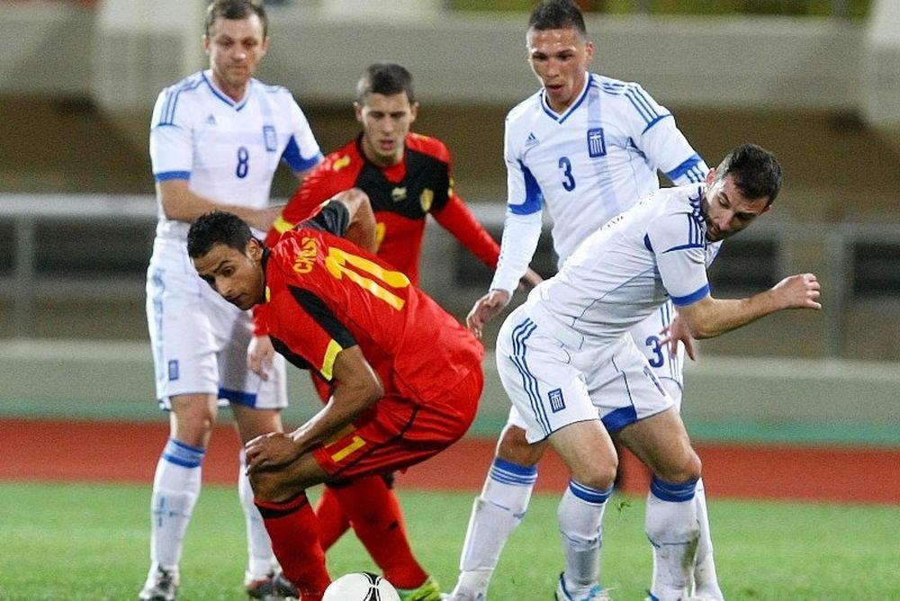 Υποτονική η Εθνική, παραχώρησε ισοπαλία (1-1) στο Βέλγιο