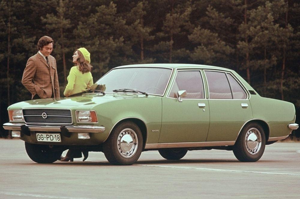 40 χρόνια Opel Record