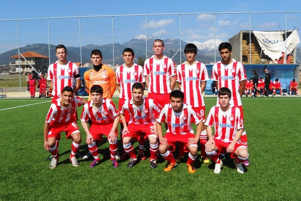 Ισόπαλοι (1-1) οι έφηβοι Αστέρα Τρίπολης και Ολυμπιακού
