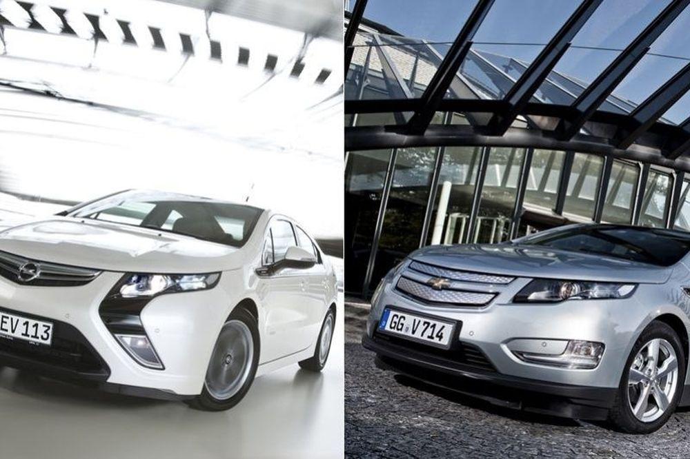 Opel Ampera και Chevrolet Volt νικητές του τίτλου «Αυτοκίνητο της Χρονιάς 2012»