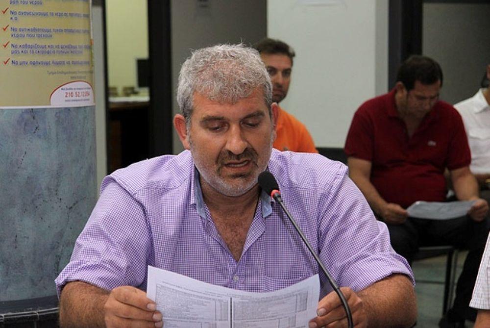 Βαρουξάκης: «Μετακόμιση Πλατανιά στα Περιβόλια»