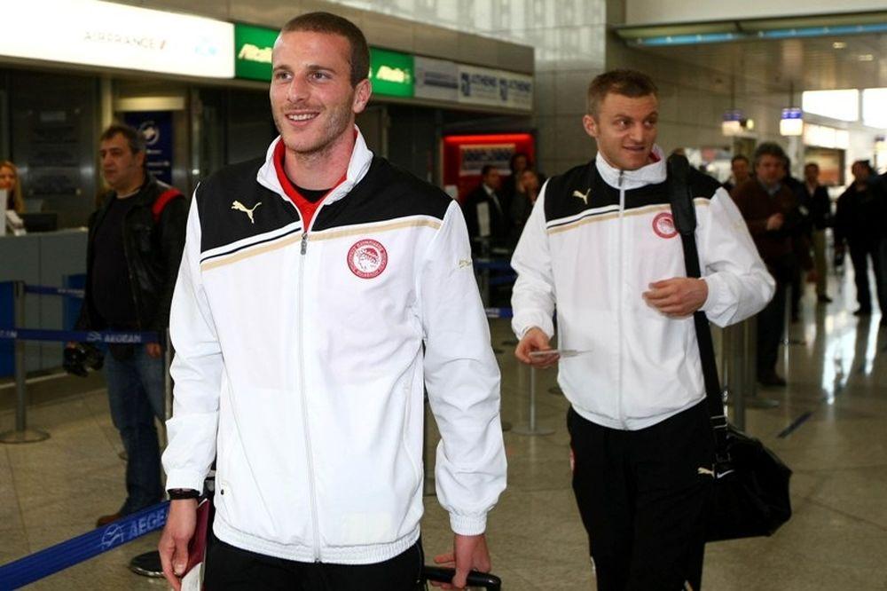«Προσγειώθηκε» στο… λευκό Χάρκοβο ο Ολυμπιακός