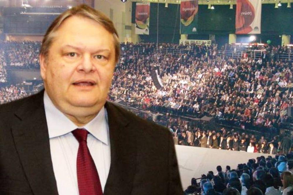 Επικρατέστερος ο Βενιζέλος για πρόεδρος του ΠΑΣΟΚ