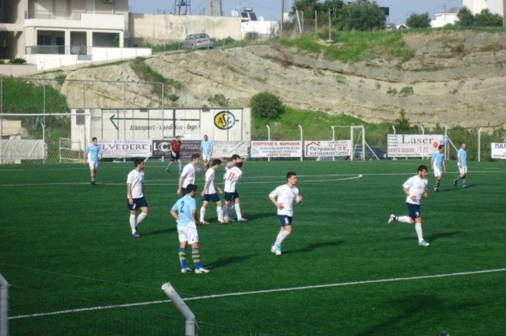 Χερσόνησος-Ρεθυμνιακός 5-0