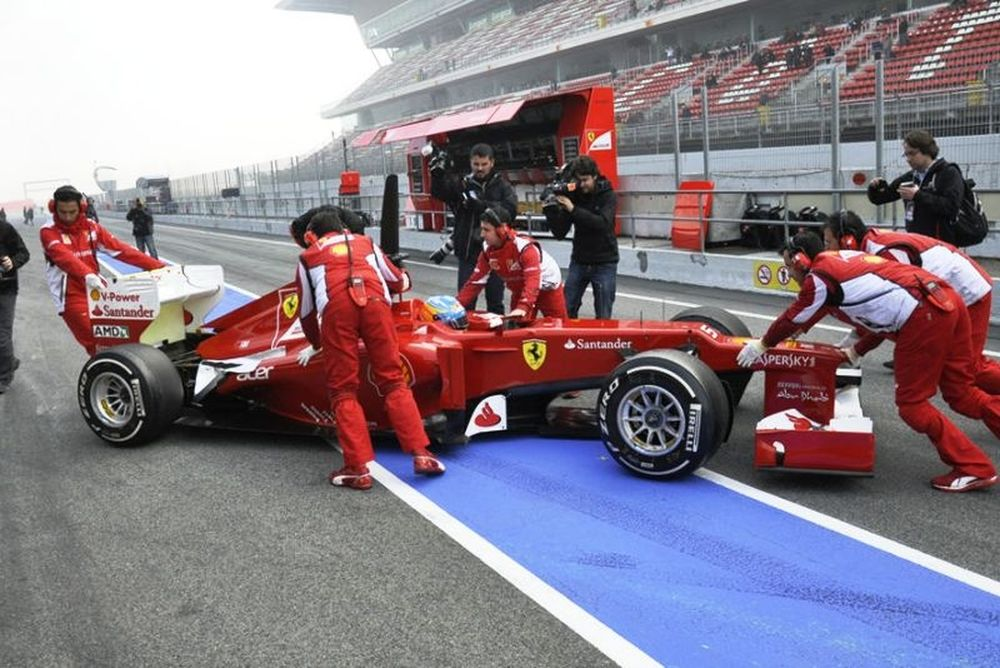 Θέλει δουλειά η Ferrari σύμφωνα με τον Αλόνσο