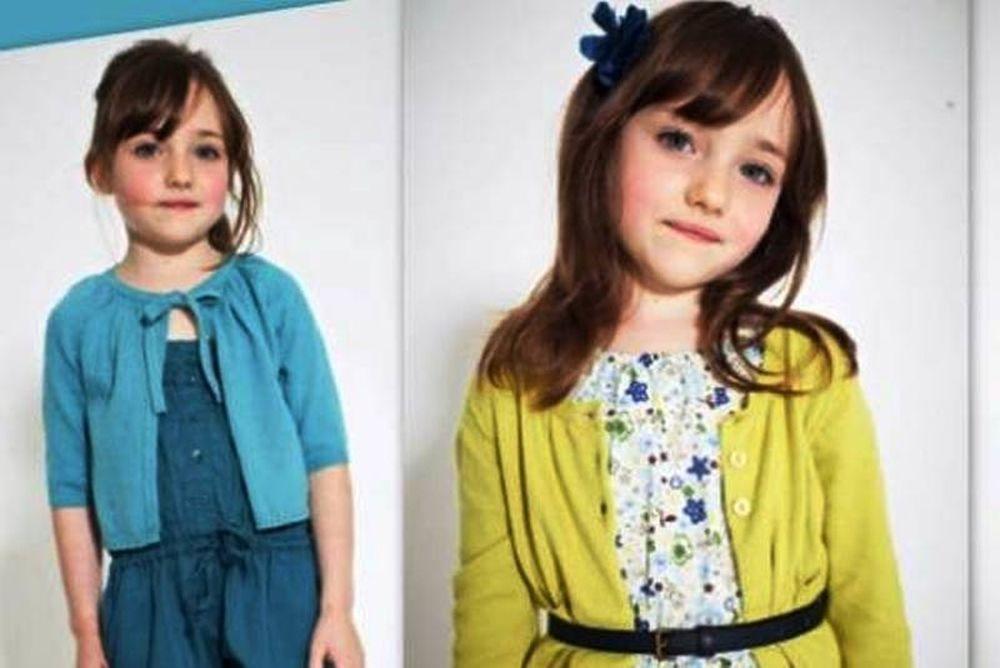 Μοντέλο η 6χρονη ανιψιά του Ανδρέα Φούρα