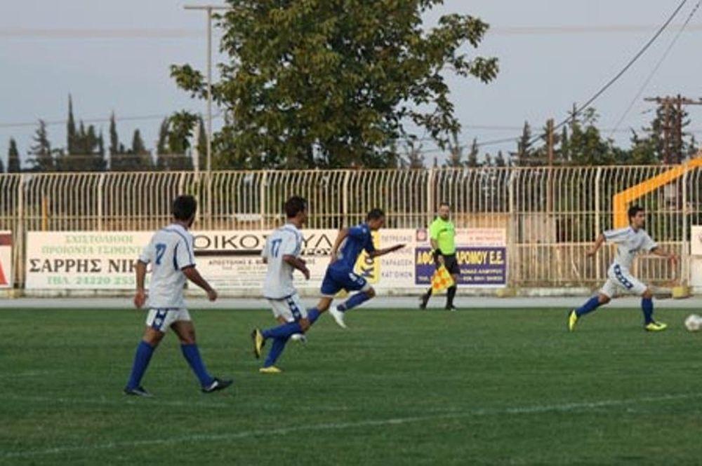Αμπελωνιακός - Α.Ε. Μουζακίου 1-0