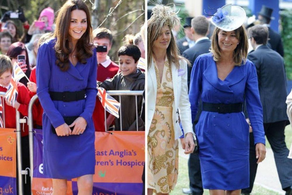 Η Κέιτ Μίντλετον κυκλοφόρησε με το φουστάνι της μάνας της!