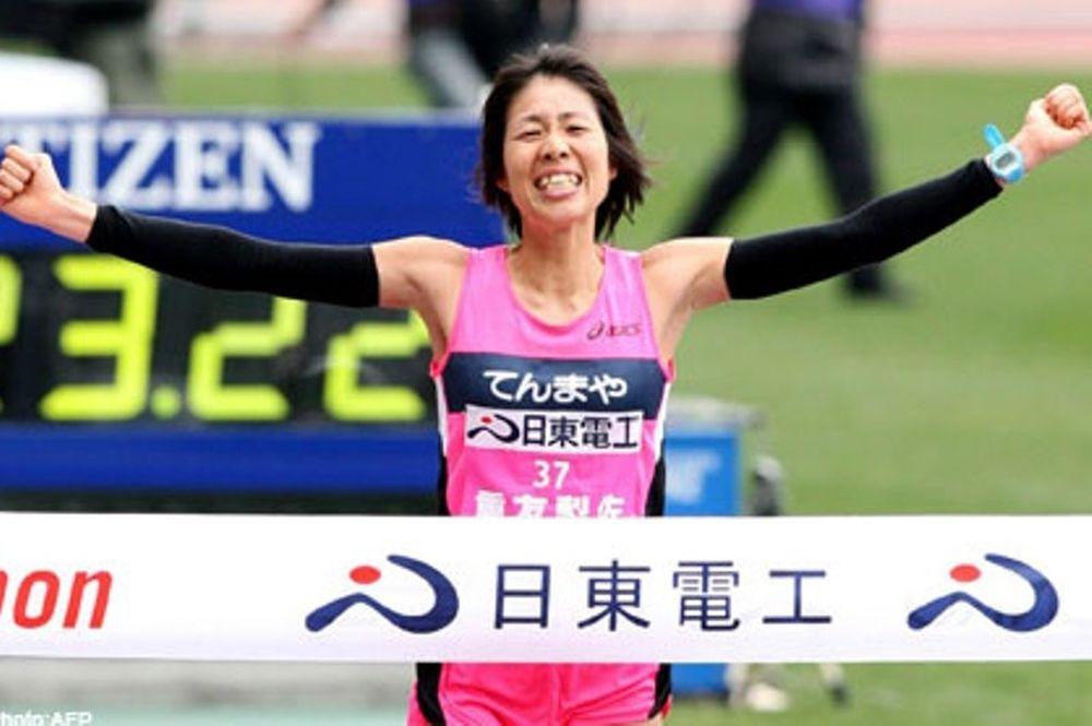 Η ολυμπιακή ομάδα της Ιαπωνίας στον Μαραθώνιο