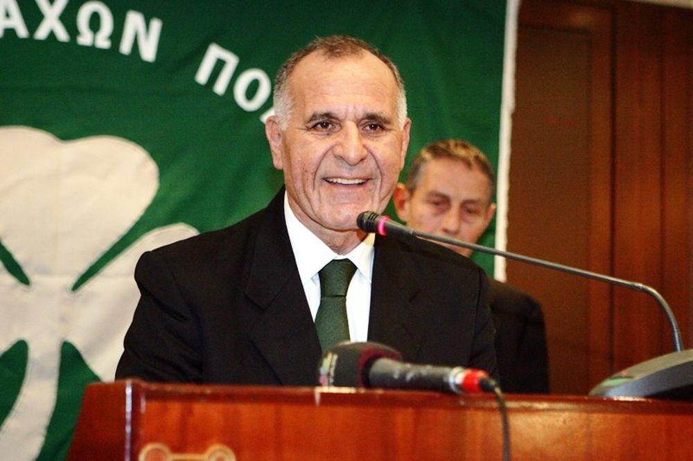 Κωνσταντίνου: «Δίπλα στον ΠΑΟ στα δύσκολα»