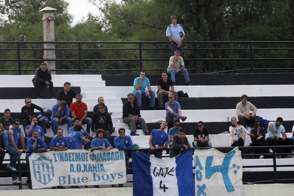 Blue Boys: «Να μην γυρίσουμε την πλάτη στον ΑΟΧ»