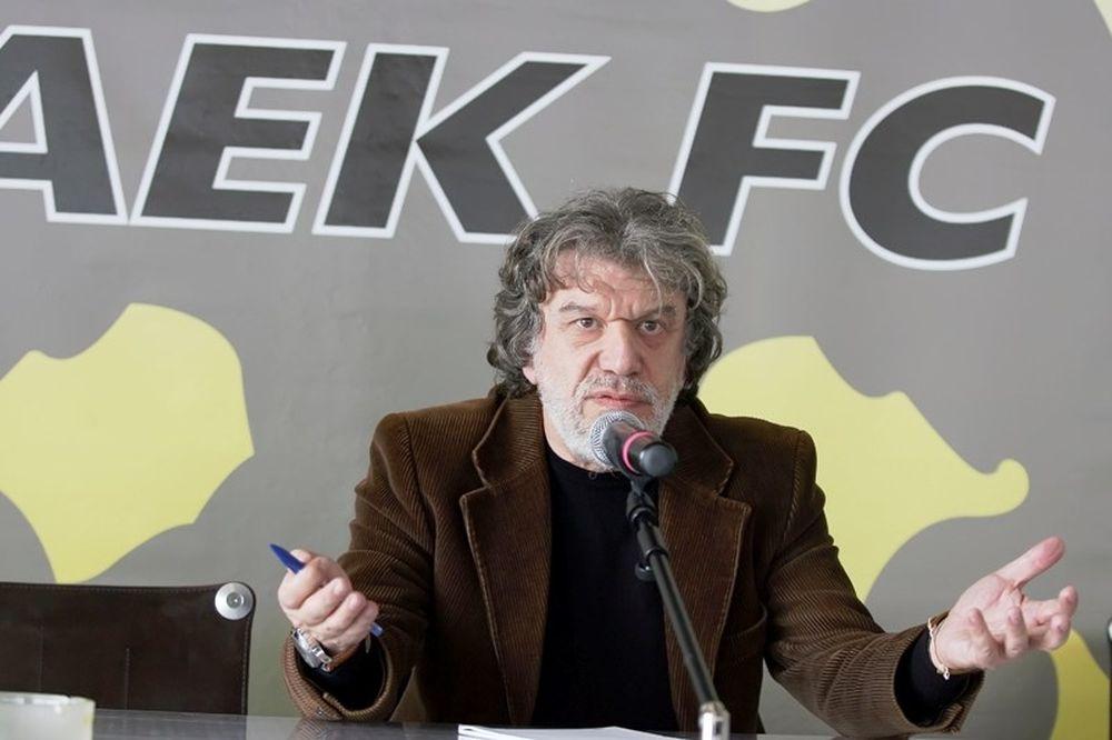 Βούρος: «Προχωράω μόνος μου για το γήπεδο της ΑΕΚ»