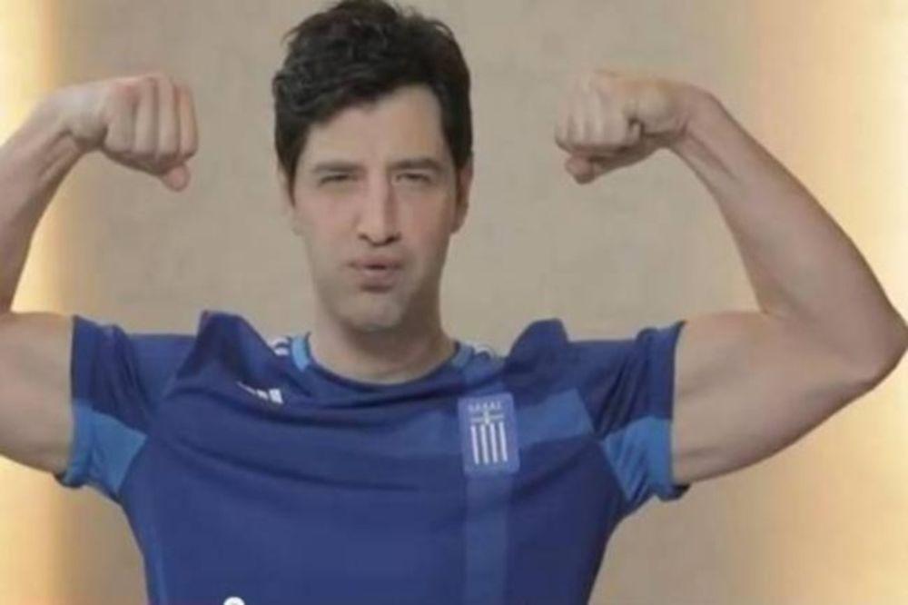 O Ρουβάς και το Making Of video για τη φανέλα της Εθνικής!