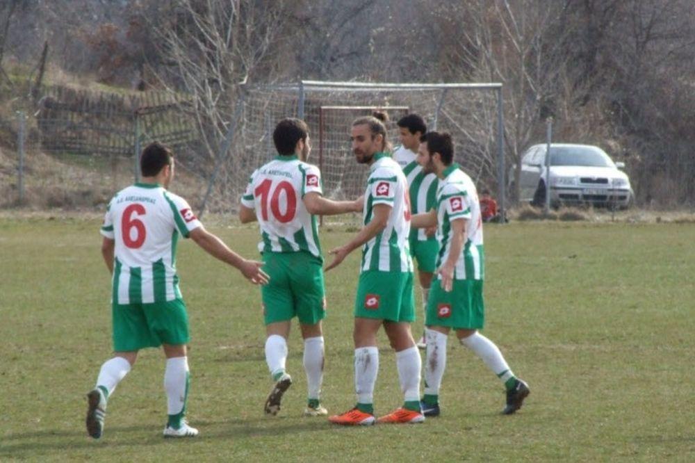 Αλεξάνδρεια-Καστοριά 2-0