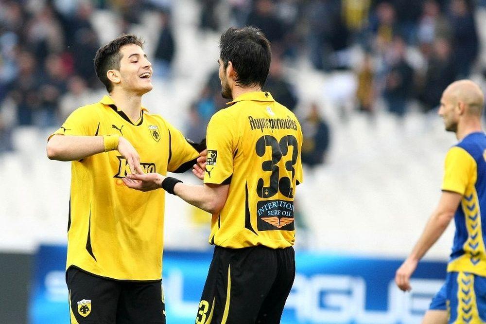 VIDEO: AEK - Παναιτωλικός 1-0 (φάσεις και γκολ)