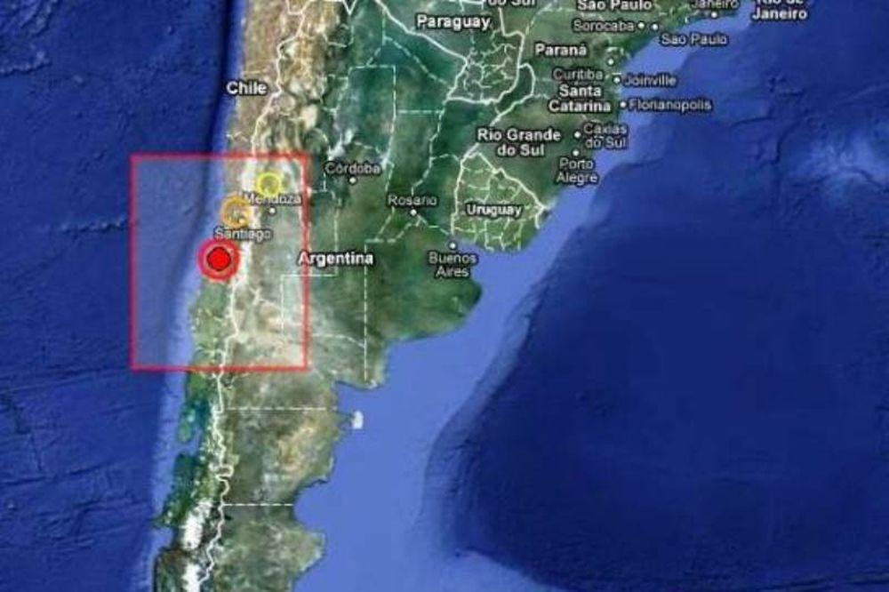 Μεγάλος σεισμός στη Χιλή!