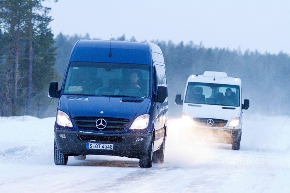 Νέο αυτόματο κιβώτιο 7G-Tronic για το Mercedes-Benz Sprinter