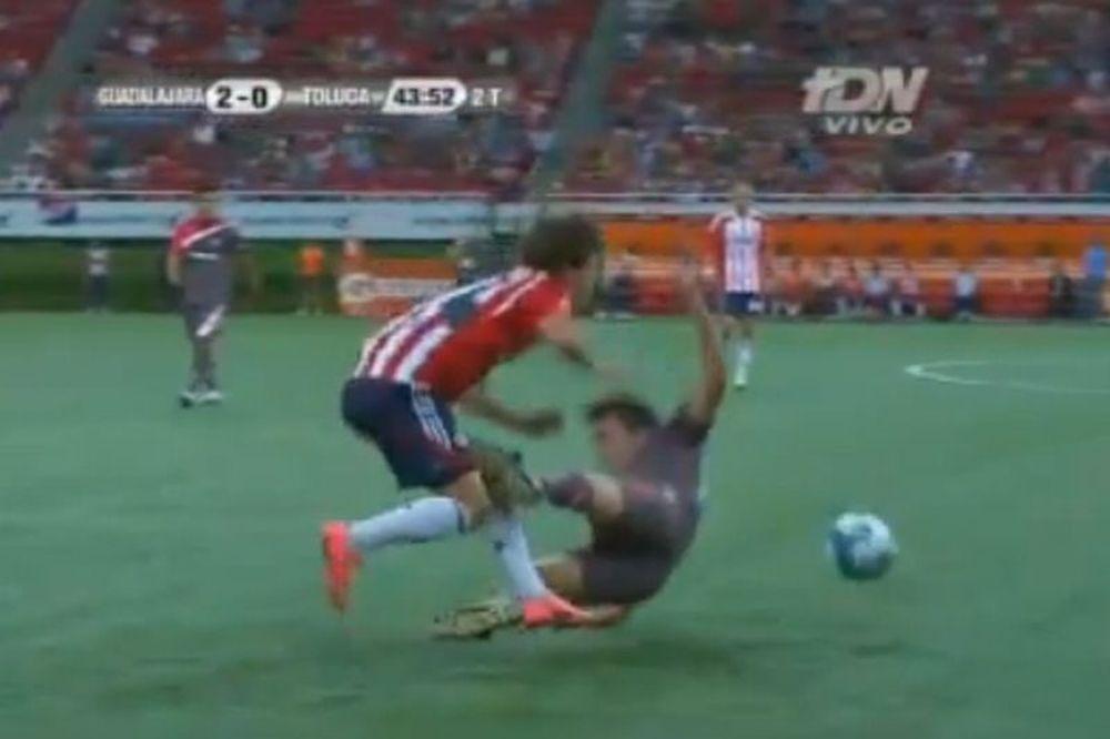 Ποδοσφαιριστής-καρατέκα! (video)
