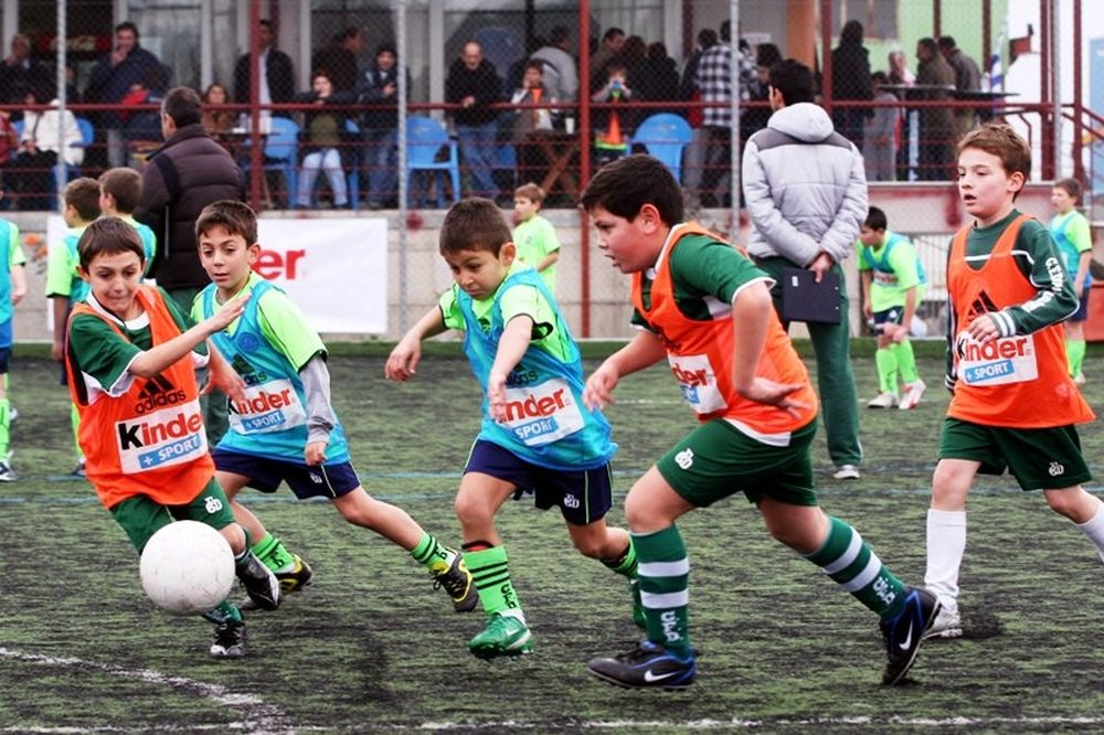 Τα πασχαλινά τουρνουά των Σχολών Ποδοσφαίρου Παναθηναϊκού