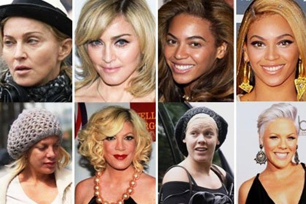 Οι διάσημες του Hollywood χωρίς μακιγιάζ